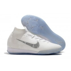 Nike Mercurial SuperflyX VI Elite IC Indoor Futsal - White Grey