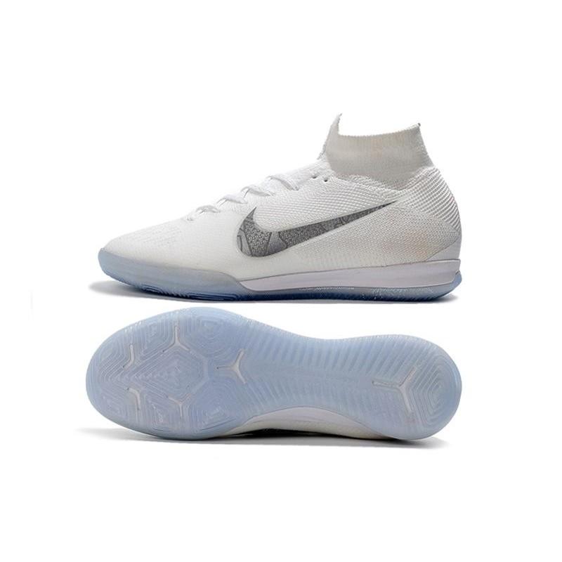 aa5b7f1df Nike Mercurial SuperflyX VI Elite IC Indoor Futsal - White Grey Maximize.  Previous. Next