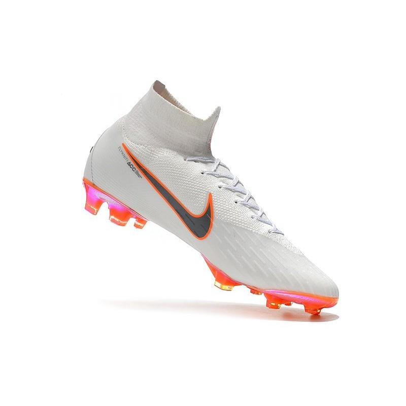 68b2a8c64 ... top quality nike mercurial superfly 6 elite fg soccer cleats white gray  orange maximize. previous