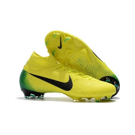 864fd4fa1 Nike Mercurial Superfly VI Elite FG 2018 World Cup - Yellow Black