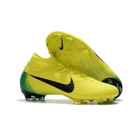 Nike Mercurial Superfly VI Elite FG 2018 World Cup - Yellow Black
