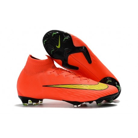23fc93a98227 Nike Mercurial Superfly VI Elite FG 2018 World Cup - Orange Yellow