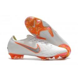 Nike World Cup 2018 Mercurial Vapor XII FG Boots - White Orange