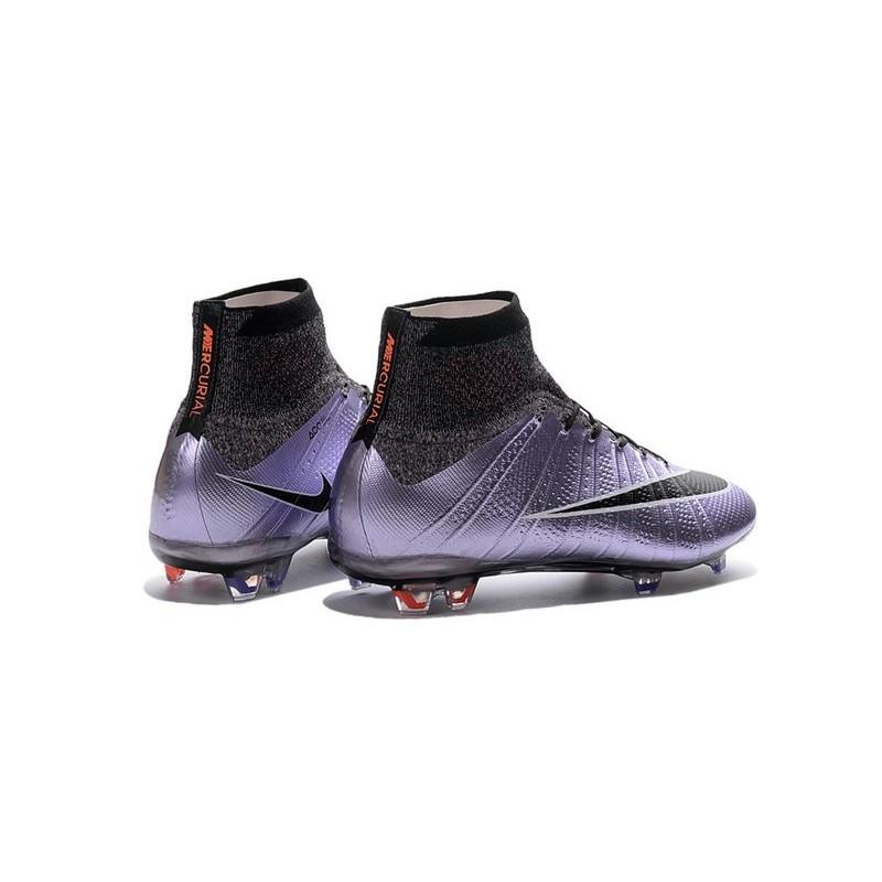promo code 7de5e e9117 Top 2016 Nike Mercurial Superfly FG Soccer Shoes Urban Lilac Black Mango