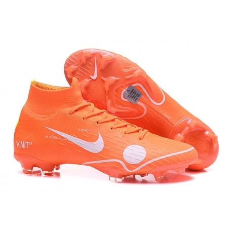 Nike Mercurial Superfly VI Elite FG 2018 Off-White Orange