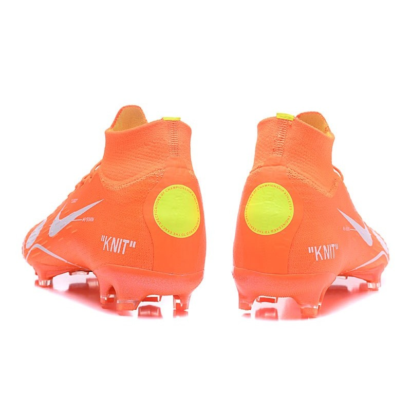4be9b0a521139 Nike Mercurial Superfly VI Elite FG 2018 Off-White Orange Maximize.  Previous. Next