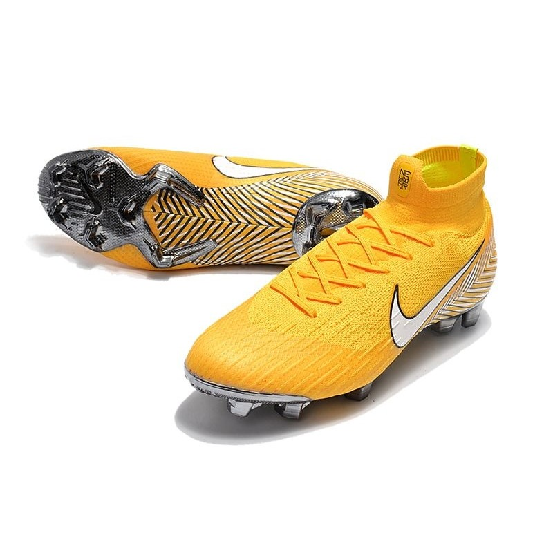 eeb81e86c74 New Nike Mercurial Superfly 6 Elite FG World Cup - Neymar Yellow White  Maximize. Previous. Next