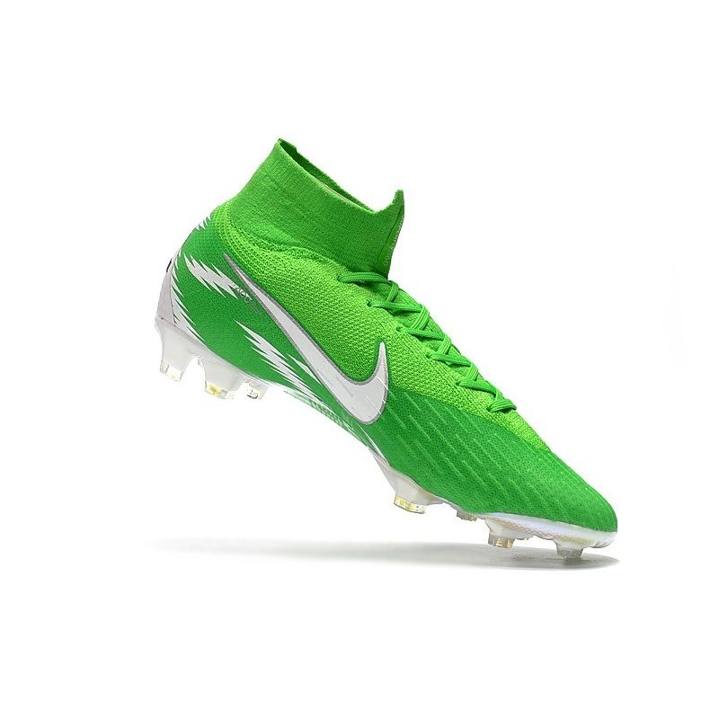 new product 9e3e6 f1dbe New Nike Mercurial Superfly 6 Elite FG World Cup - Green Silver