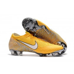 Nike World Cup 2018 Mercurial Vapor XII FG Boots - Neymar Yellow White