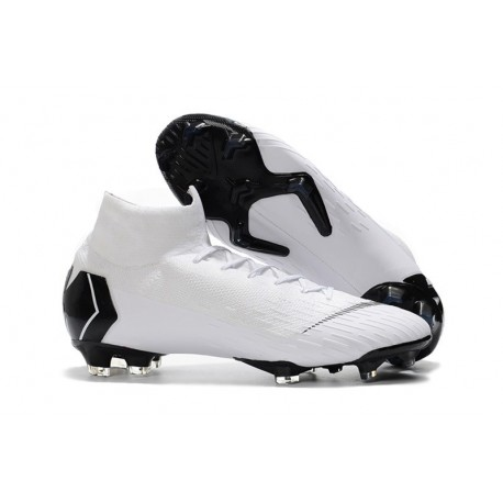New Nike Mercurial Superfly 6 Elite FG World Cup - White Black