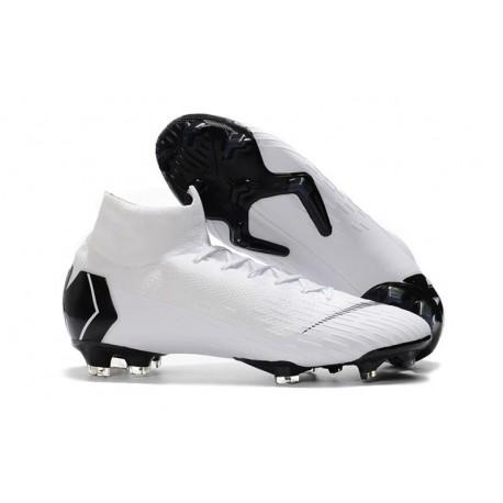 2e8770bf4c53 New Nike Mercurial Superfly 6 Elite FG World Cup - White Black
