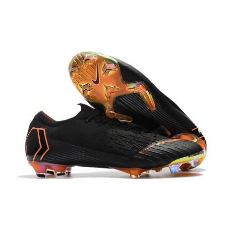 Nike World Cup 2018 Mercurial Vapor XII FG Boots - Black Orange
