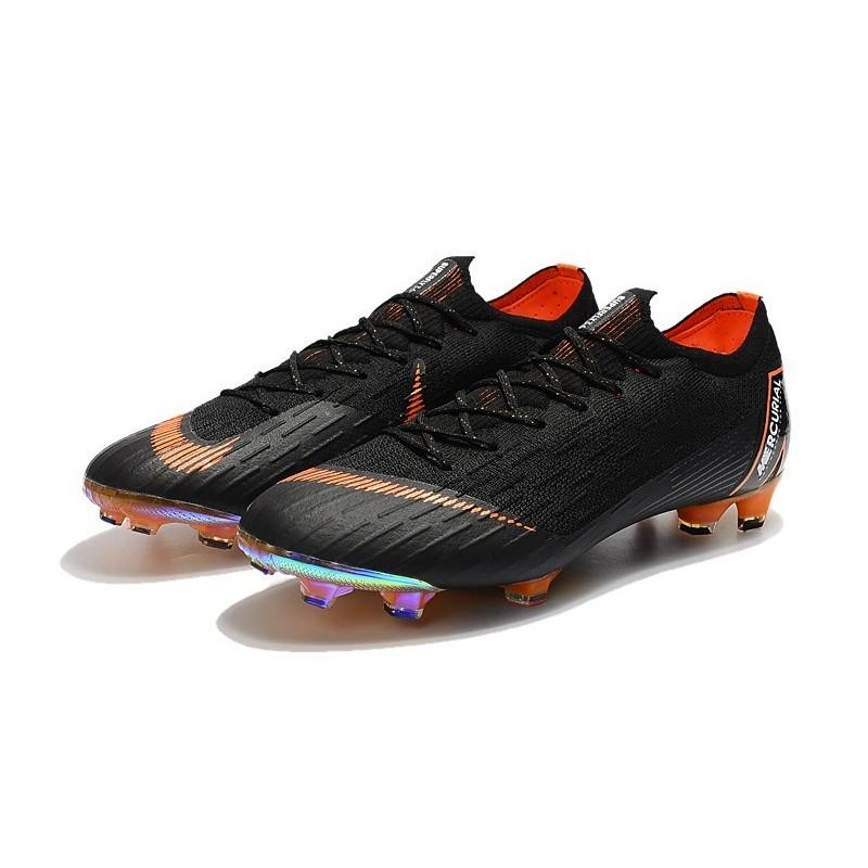 f34c928bf Nike World Cup 2018 Mercurial Vapor XII FG Boots - Black Orange Maximize.  Previous. Next