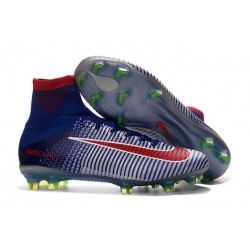Top 2016 Nike Mercurial Superfly FG Soccer Shoes Blue Orange