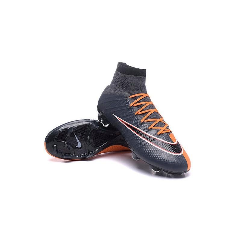4f457ea2a95 ... france top 2016 nike mercurial superfly fg soccer shoes black orange  46d37 e818e
