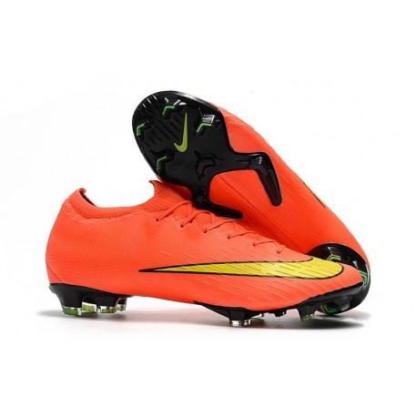Nike World Cup 2018 Mercurial Vapor XII FG Boots - Orange Yellow
