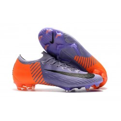 Nike Mercurial Vapor XII Elite FG Firm Ground Cleats - Purple Orange Black