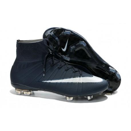 99451ad3b1dda Nike Mercurial Superfly IV FG Mens Football Shoes Deep Blue White