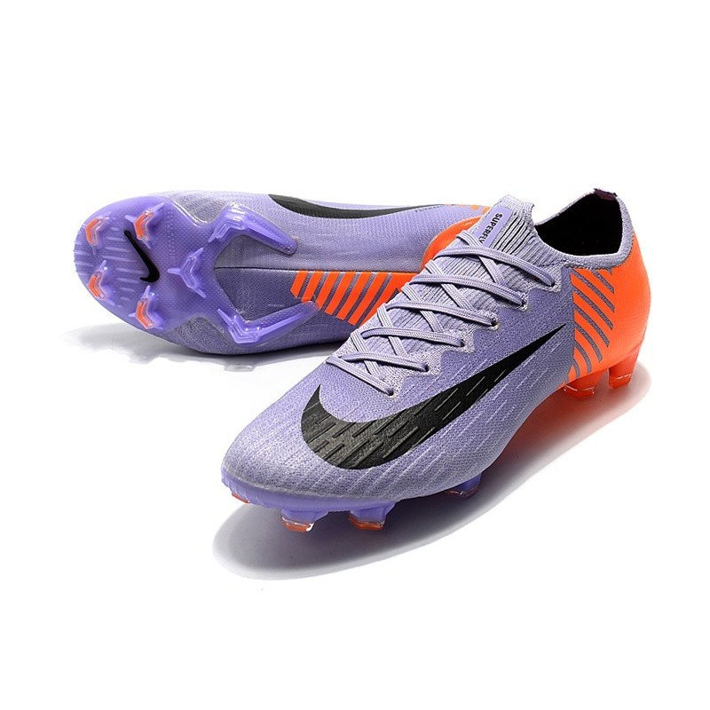 9ff9e2962 Nike Mercurial Vapor XII Elite FG Firm Ground Cleats - Purple Orange Black  Maximize. Previous. Next