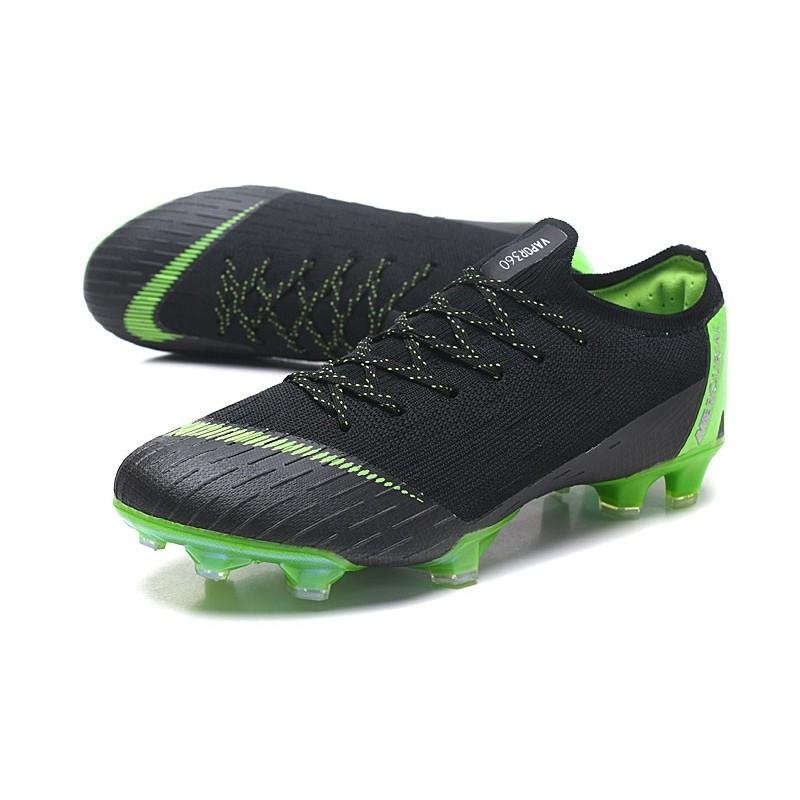b2d9fda73 Nike Mercurial Vapor XII Elite FG Firm Ground Cleats - Black Green  Maximize. Previous. Next