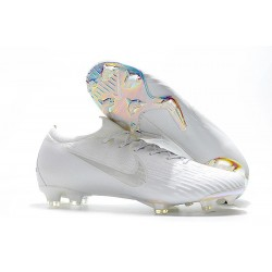 Nike Mercurial Vapor XII Elite FG Firm Ground Cleats - All White