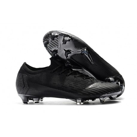 Nike Mercurial Vapor XII Elite  FG Firm Ground Cleats - All Black