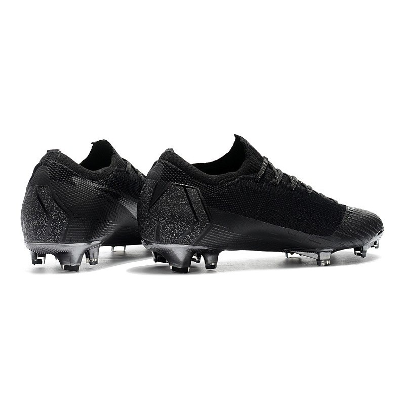 5163a7efeeee Nike Mercurial Vapor XII Elite FG Firm Ground Cleats - All Black Maximize.  Previous. Next