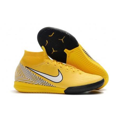 Nike Mercurial SuperflyX VI Elite IC Indoor Futsal - Neymar Yellow White