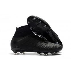 Nike Hypervenom Phantom III DF FG Cleats Black Silver