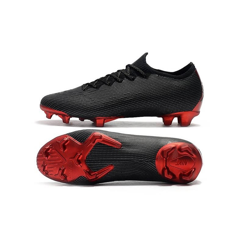 26c8ff3ba Nike Mercurial Vapor 12 Elite FG Jordan x PSG Black Silver Red Maximize.  Previous. Next