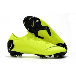 Nike Mercurial Vapor 12 Elite FG Man Boots - Volt Black