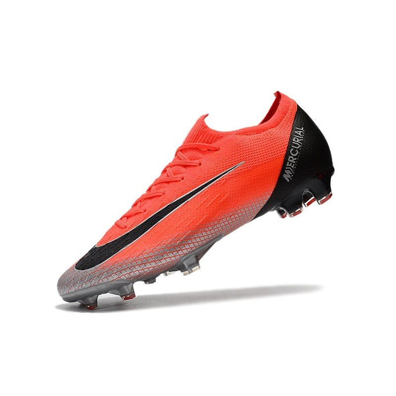 6be919fb82c8 Nike Mercurial Vapor 12 Elite FG Cristiano Ronaldo CR7 Boots - Red Silver  Black Maximize. Previous. Next