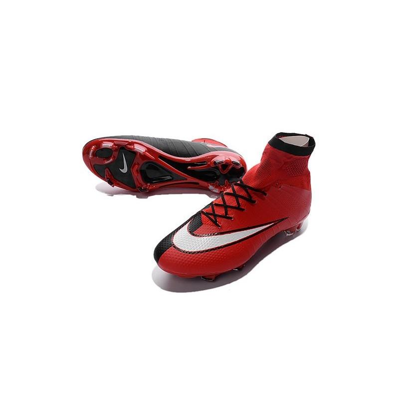 d63b6511ae4b ... cheap nike mercurial superfly fg new men football cleats red black  white dc635 4cd13 ...