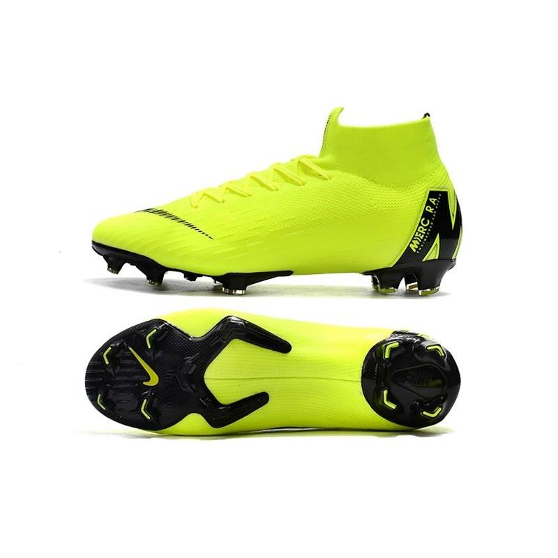 4235ba3d6a394 Nike Mercurial Superfly 6 Elite FG Firm Ground Boots - Volt Black Maximize.  Previous. Next