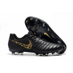 Nike Tiempo Legend 7 Elite FG New Soccer Cleats - Black Safari