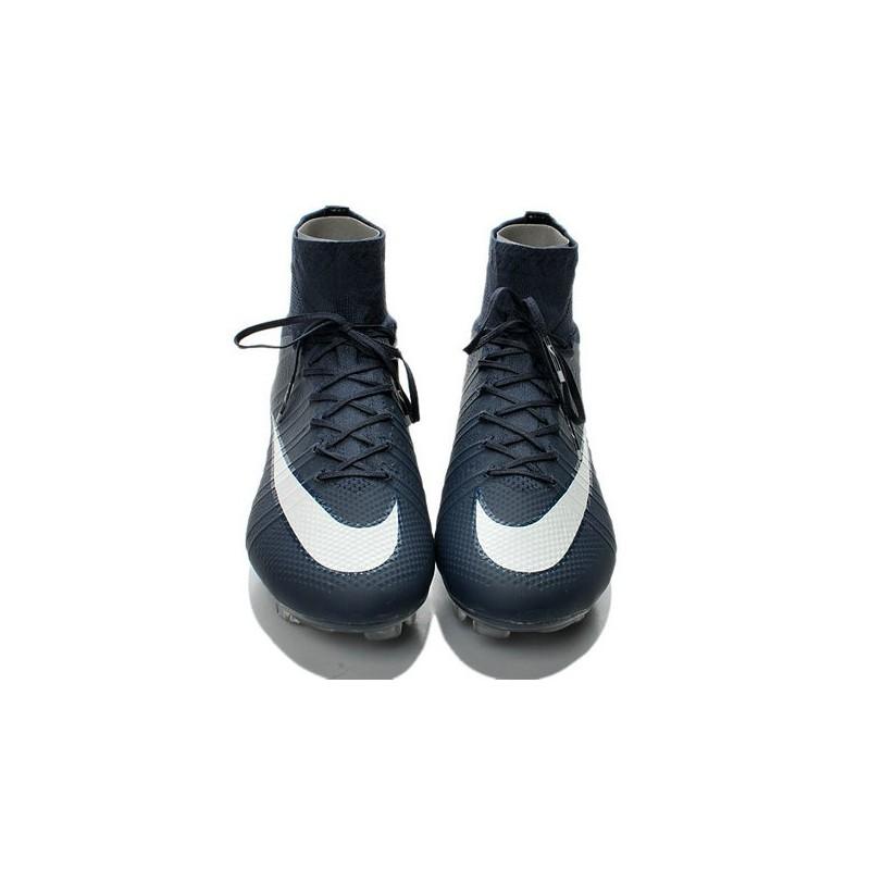 huge selection of 810fa 23e95 ... shop nike mercurial superfly iv fg mens football shoes deep blue white  a9d3a b3dc7