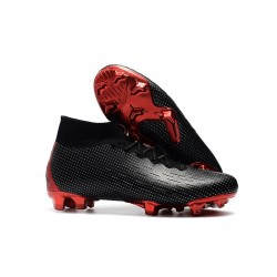 Nike Mercurial Superfly 6 Elite FG Nike x Jordan Boots - Black Red
