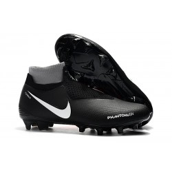 Nike Phantom Vision Elite DF FG Soccer Boots - Black Orange White