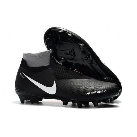 Nike Phantom Vision Elite DF FG Soccer Boots - Black Orange White