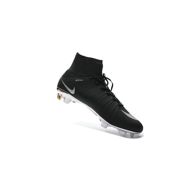 18eaea309 Nike Mercurial Superfly FG New Men Football Cleats Black Silver
