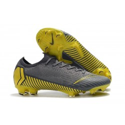 Nike News Mercurial Vapor XII Elite FG Cleats - Thunder Grey Black