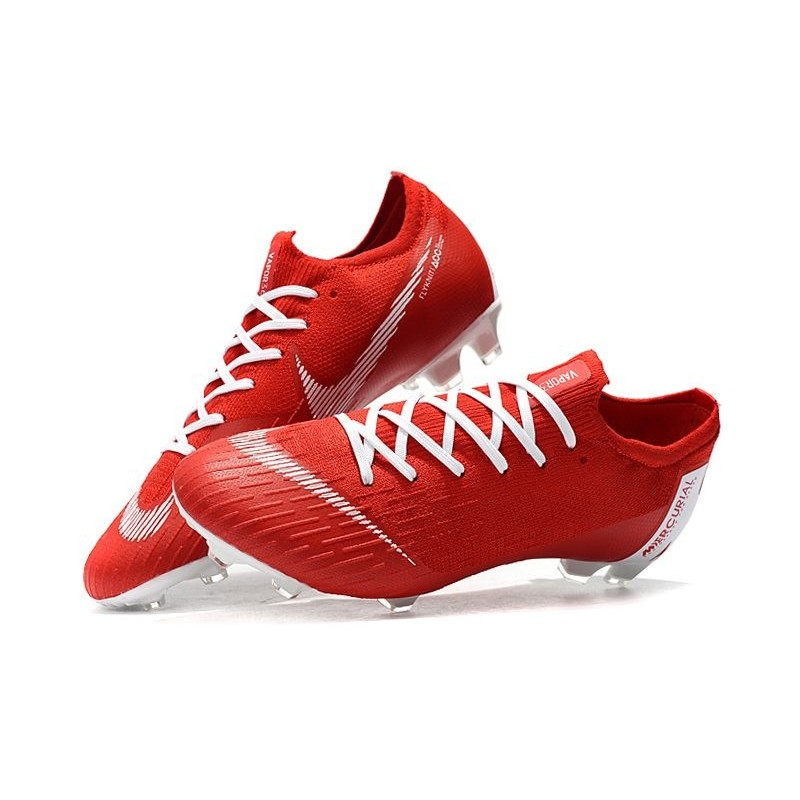best low cost catch Nike News Mercurial Vapor XII Elite FG Cleats - Red White