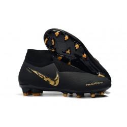 Nike Phantom Vision Elite DF FG Soccer Boots - Black Lux