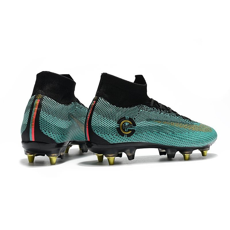 new product 59f10 31db4 Ronaldo Nike Mercurial Superfly VI CR7 Elite SG-Pro AC Boots ...