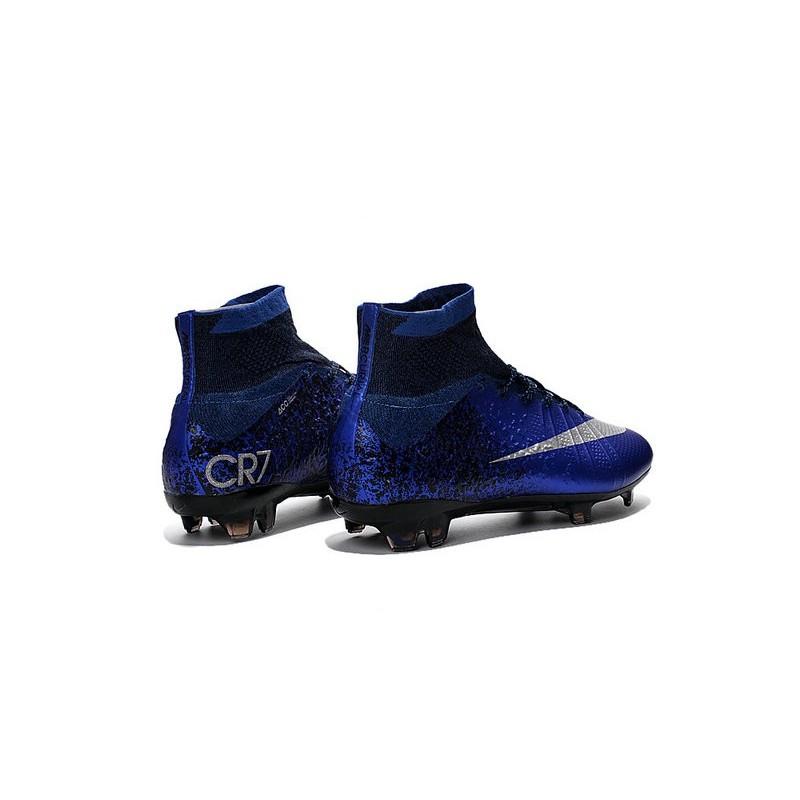 best loved 0e74f f751d Nike Mercurial Superfly FG New Men Football Cleats Hyper Cobalt Silver