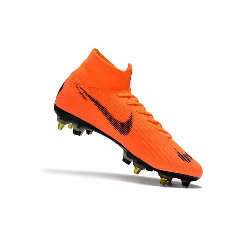 7febe5055 Nike Mercurial Superfly VI Elite SG-Pro AC Boots - Orange Black Maximize.  Previous. Next