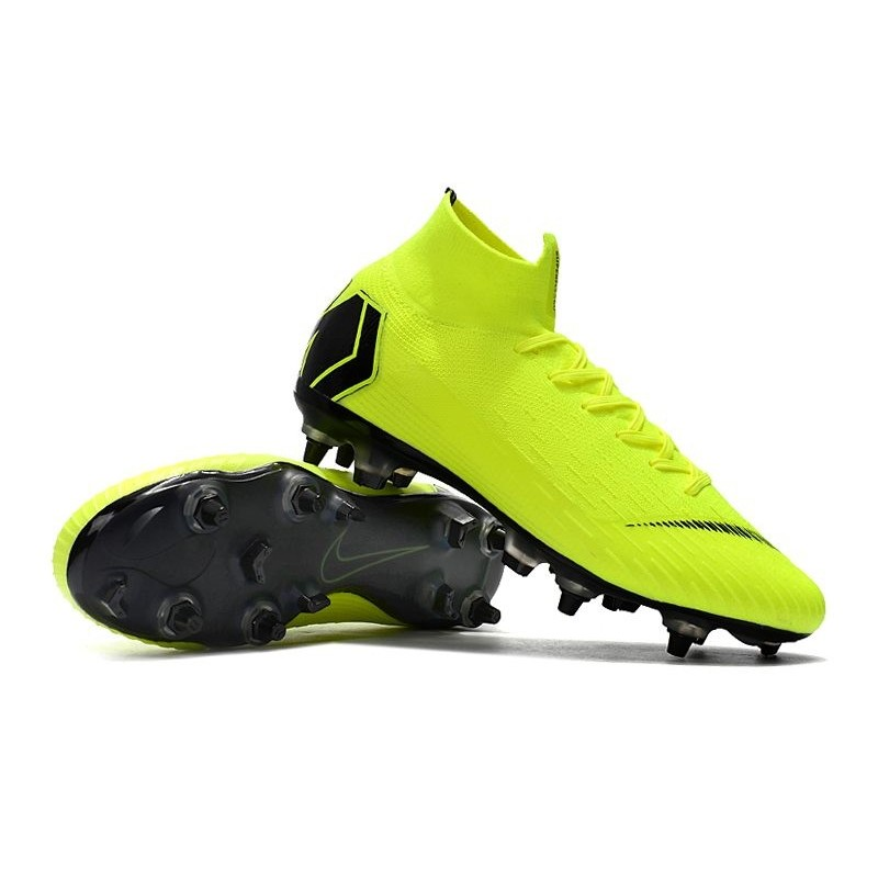 Residuos cache Comienzo  Nike Mercurial Superfly VI Elite SG-Pro AC Boots - Volt Black