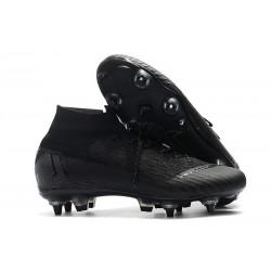 Nike Mercurial Superfly 6 Elite SG Anti-Clog Cleats All Black