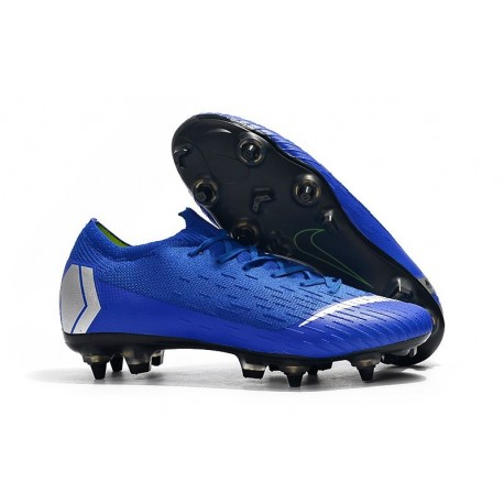 Nike Mercurial Vapor XII Elite AC SG-Pro Blue Silver