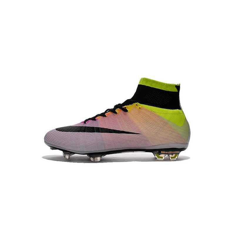 Cristiano Ronaldo New Soccer Boot Nike Mercurial Superfly FG White Volt  Orange 01ac1cfcde8e
